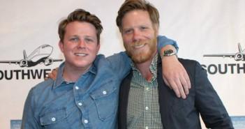 Ben Fuqua (left) with Marc Manchaca