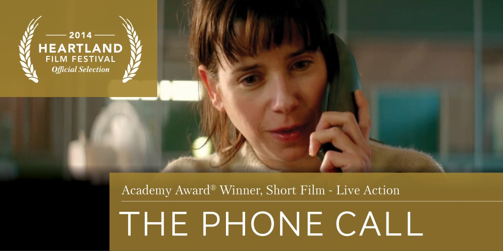 The Phone Call Wins Live Action Short Film