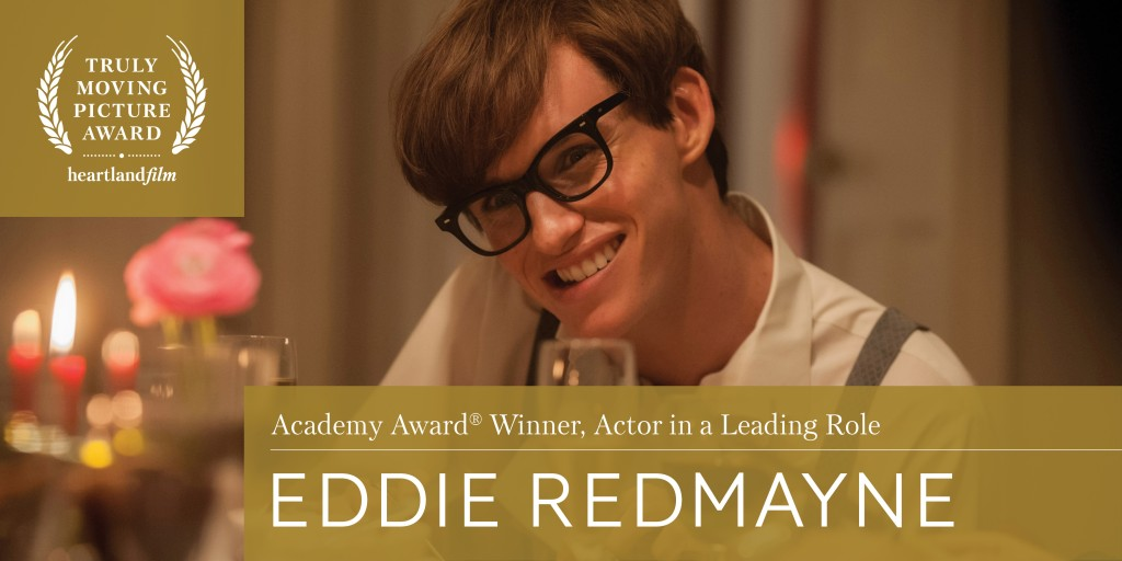 Eddie Redmayne Leading Actor for The Theory of Everything