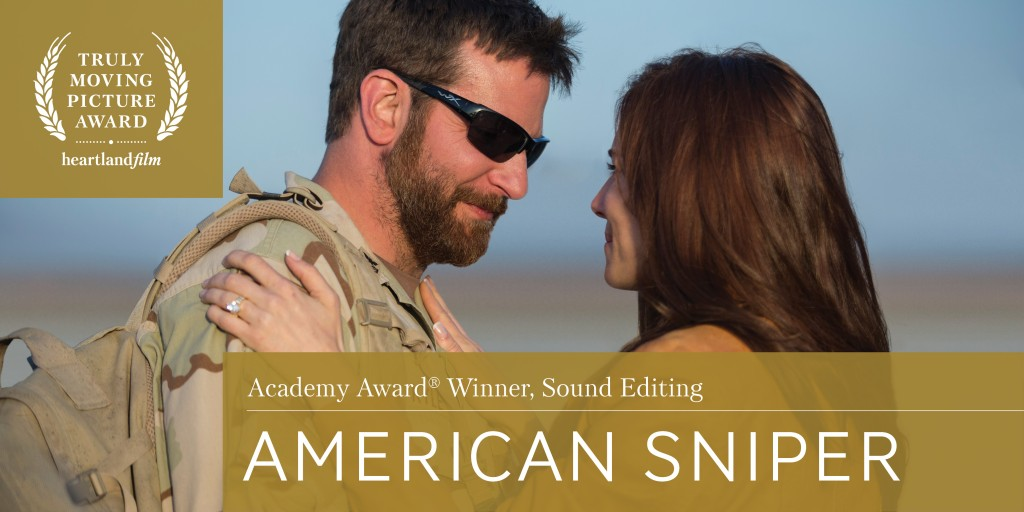 American Sniper Wins Best Editing