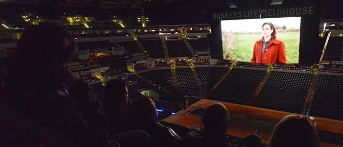 "Heartland Film Screening of ""Hoosiers"" Inside Bankers Life Fieldhouse"